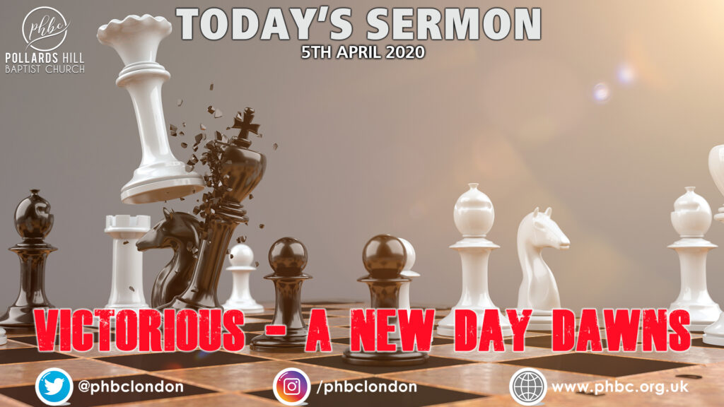 """New Sermon Series – """"VICTORIOUS: A New Day Dawns"""""""